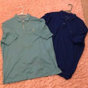 Bundle of 2 Tommy Bahama Polos